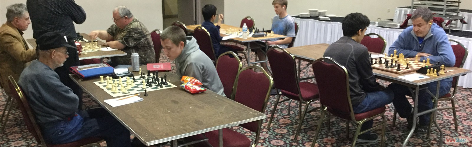 Monday night at the Kingsmen Chess Club